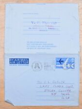 MayfairStamps Great Britain 1969 Sussex to Lake Placid New York Used Stationery