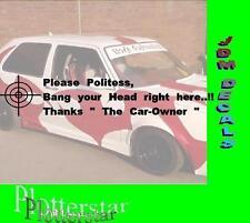 Please Politess Polizei  Aufkleber Sticker Sieger Autoaufkleber JDM Hater Fun
