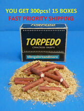 300 pc Adult Party Poppers 15 Boxes! Torpedo Red Party Cracker Snaps FAST SHIP