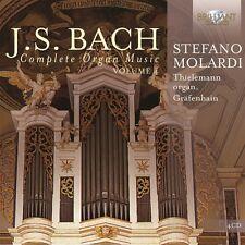 STEFANO MOLARDI - JOHANN SEBASTIAN BACH: COMPLETE ORGAN MUSIC VOL.4 4 CD NEUF