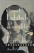 """SCOTT EYMAN -""""ERNST LUBITSCH:LAUGHTER IN PARADISE"""" - FILM DIRECTORS - HB (1993)"""