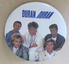"DURAN DURAN AUTHENTIC 1984 PHOTO PINBACK 1.25"" BUTTON VERY GOOD TRITEC MUSIC LTD"