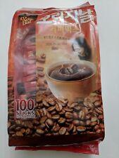 RoseBud Original Korean Coffee Mix 100 Sticks