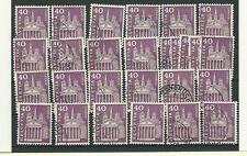 CH Schweiz Freimarken 703 Stempel-Los mit Zufällen  (ansehen ) (CH 52)