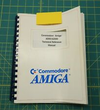 Commodore Amiga A500/A2000 Technical Reference Manual 500 2000