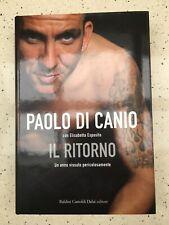 Signed Paolo Di Canio Autobiography written with Elisabetta Esposito.