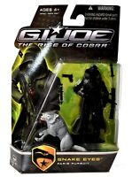 Hasbro GI Joe The Rise of Cobra SNAKE EYES Paris Pursuit Action Figure NIB d509