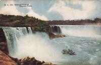 Postcard Niagara Falls New York