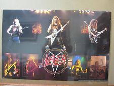 vintage 1990 Slayer thrash metal band   5263