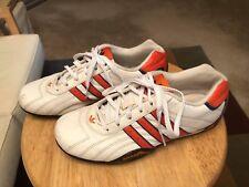 623fd0d37b99b Team Adidas Racer Goodyear Men's US4 White Orange Athletic Sneakers Shoes