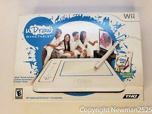 Nintendo Wii UDraw Game Drawing UDraw Game Tablet  UDraw Studio New Open Box