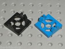 2 x Attache Aimant LEGO Magnet Holder Tile ref 2609 / set 6190 6155 6989 6956 ..