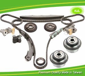 Timing Chain Kit For Nissan Pathfinder Xterra Frontier 4.0L VQ40DE+2 Intake VVT