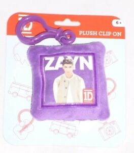 One Direction 'Zayn' Square Shaped Plush Brands Backpack Clip (BT147)