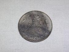 VINTAGE 1959 ESTADOS UNIDOS MEXICANOS UN PESO COIN