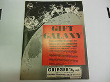 Grieger's Catalog Original Gift Galaxy 1963 061113ame