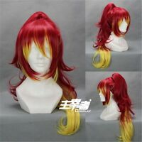 Ao No Exorcist Shura Anime Cosplay Costume Wig + Free CAP