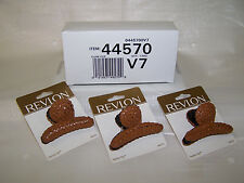 3 Revlon Fashion Clips  - 3 packs 1 pc each - ( # 44570 )