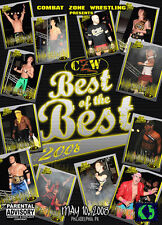 CZW Wrestling: Best of the Best 8 DVD, Lufisto Chuck Taylor Sabian Nick Gage
