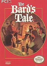 Bard's Tale (Nintendo Entertainment System 1991) Nntendo NES Complete Free Ship