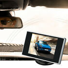 3.5 Inch LCD TFT Screen Car Rear View Monitor Vehicle Rearview Backup Camera New
