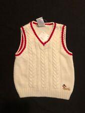 Baby Boys Gymboree Hoot and Hop Cream Sweater Nwt 3-6 M