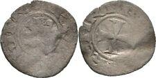Denier 1285-1324 Crusader Zypern Cyprus Heinrich II., 1285-1324, Kreuz #BXP46