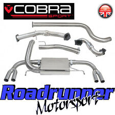 """Cobra Astra VXR J MK6 Exhaust System 3"""" Turbo Back & Sports Cat Downpipe Non Res"""