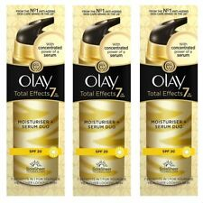 3 Olay Total Effects Moisturiser & Serum 2-In-1 Duo SPF20 NonGreasy Formula 40ml