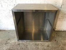 STAINLESS STEEL EXTRACTOR/DISHWASHER HOOD*1000 MM WIDE*