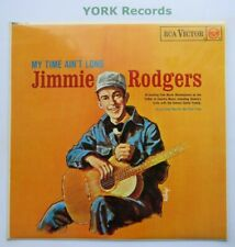 JIMMIE RODGERS - My Time Ain't Long - Excellent Con LP Record RCA Victor RD-7644