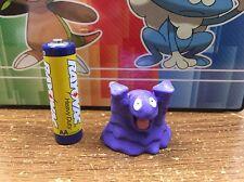 1st Generation pokemon plastic figure Grimer 1-2 inches tall NEW in U.S