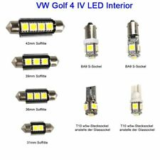 For VW LED Interior White Lights Replacement kit GOLF 4 MK IV 5050 Error Free