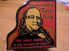 BENJAMIN FRANKLIN THRIFT BANK BY LOUIS MARX CO.