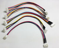 Lipo Balance Extension Lead Cable JST-XH 20cm - 2s 3s 4s 5s 6s - 5 PACK BUNDLE