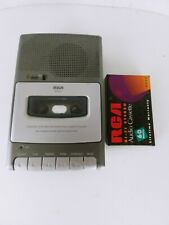 RCA RP3503 Personal Portable Cassette Recorder Built in Microphone