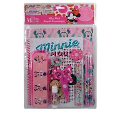 Minnie 11pc Value Pack with Plastic Pencil Case in Pvc Bag with Header