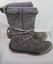 Cushe Womens IT Boot Cuff WP Boot grey lilac suede waterproof size 7