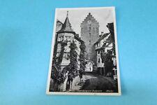 Alte AK MEERSBURG am Bodensee, Obertor - gelaufen um 1930, mit Marke (108)
