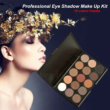 15 colors Pro Makeup Palette EyeShadow Nake Matte Earthy Cosmetic Eyeshadow Set