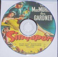 FILM NOIR 202: SINGAPORE 1947 John Brahm Fred MacMurray Ava Gardner