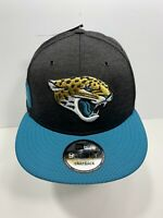 New Era 9FIFTY Black & Teal Jacksonville Jaguars SnapBack Flat Bill Cap, NEW!