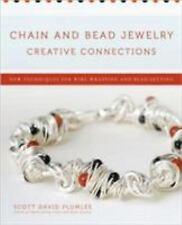 BK199f CHAIN & BEAD JEWELRY by Scott David Plumlee New Soft Cover Book
