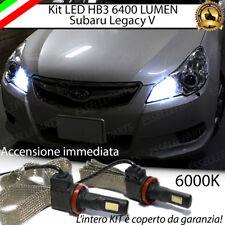 KIT FULL LED SUBARU LEGACY 5 V ABBAGLIANTI LED HB3 9006 6000K 100% NO ERROR