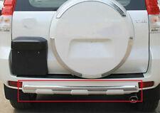 For Toyota Prado FJ150 2010~2017 Chrome Pearl White Rear Bumper Protector Covers