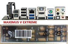 original ASUS I/O IO SHIELD MAXIMUS V EXTREME backplate #G933 XH
