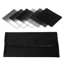 6pcs ND2 ND4 ND8 + Gradual ND2 ND4 ND8 filter set for cokin p series