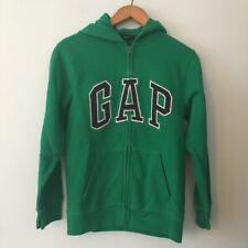 GAP Kids Green Zip Up Hooded Sweatshirt - UK 8-9yrs - BRAND NEW WITH TAGS