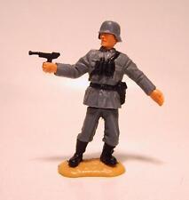 Timpo Toys Deutscher Offizier WWII mit Luger Pistole