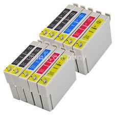 10x XL cartuchos para Epson sx100 sx105 sx110 sx115 sx200 sx205 sx210 sx215 sx510w